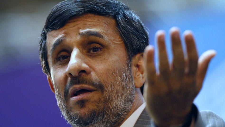 Präsident Ahmadinedschad: Kampf für mehr Iraner
