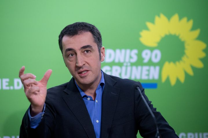 """Grünen-Chef Özdemir: """"Für mich ist es eine Gewissensentscheidung"""""""