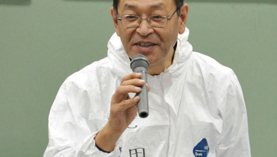 """AKW-Chef Yoshida (im November 2011): """"Dachte mehrmals, ich würde sterben"""""""