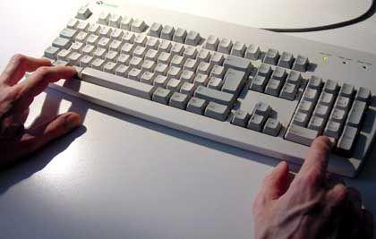 Notbehelf für Generationen: Drei Tasten auf der Tastatur