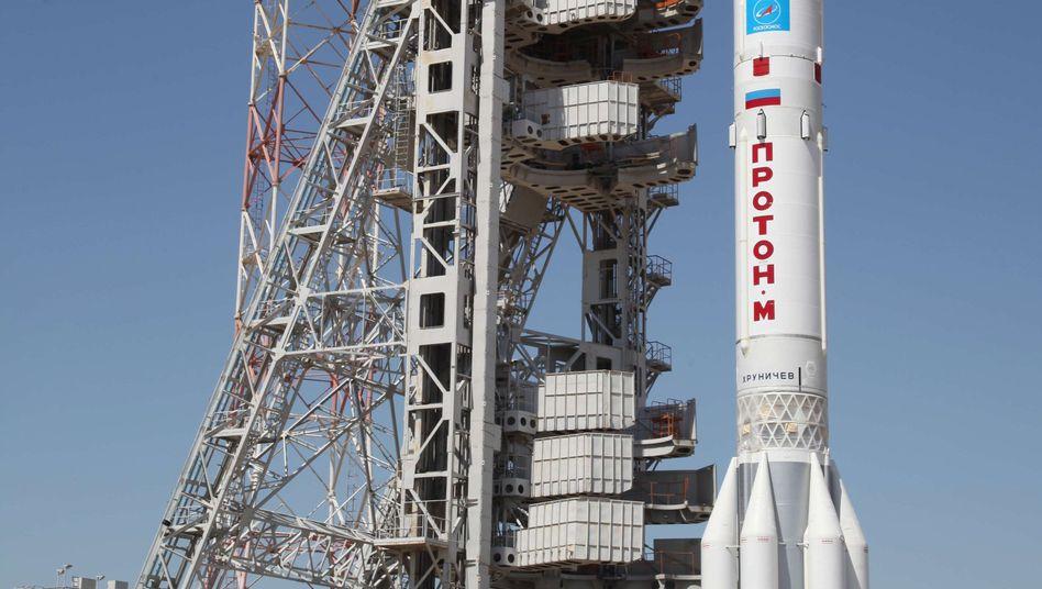 Russische Proton-M-Rakete: Absturz kurz nach dem Start