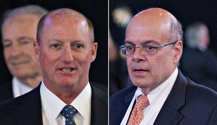 Greg Abel (links) und Ajit Jain (rechts)