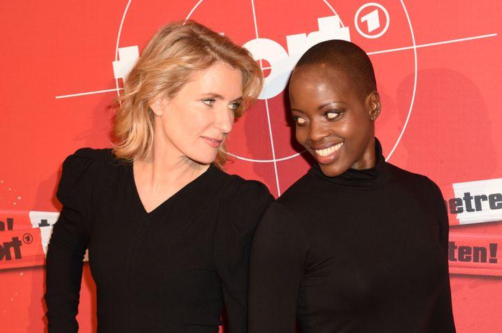 Furtwängler und Florence Kasumba