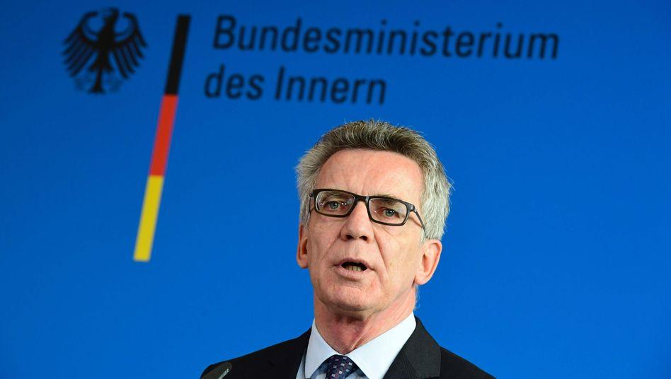 Minister Thomas de Maizère