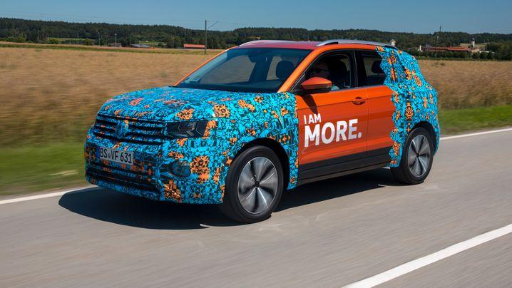 Erste Fahrt im VW T-Cross: Polo in Bunt