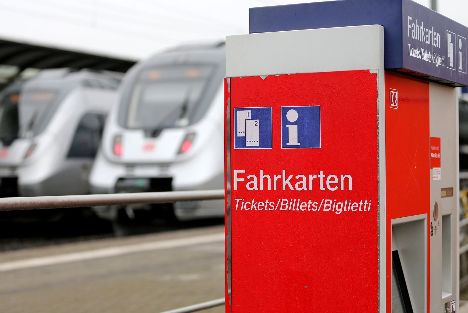 Deutsche Bahn / Fahrkartenautomat / Ticket