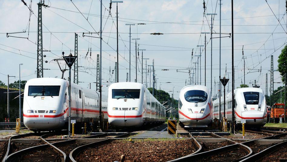 ICE der Deutschen Bahn (Archivbild)