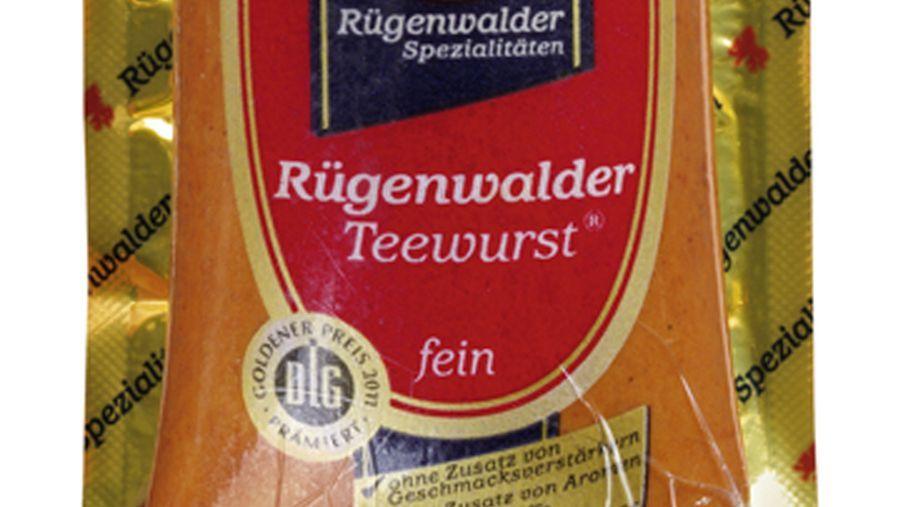 Rückrufaktion Rügenwalder Teewurst