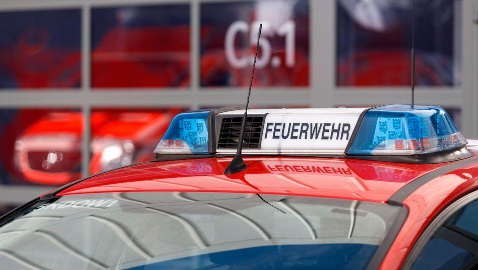 Feuerwehrfahrzeug (Symbolbild)