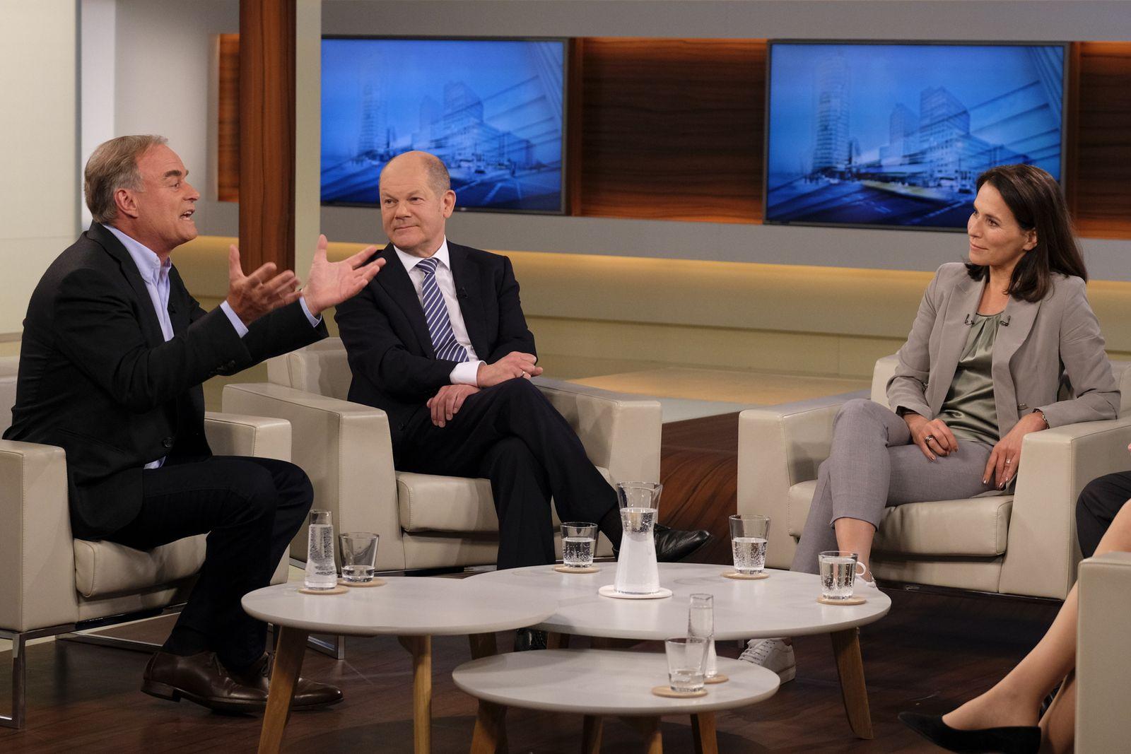 EINMALIGE VERWENDUNG TV/ Anne Will/ 06.05.18