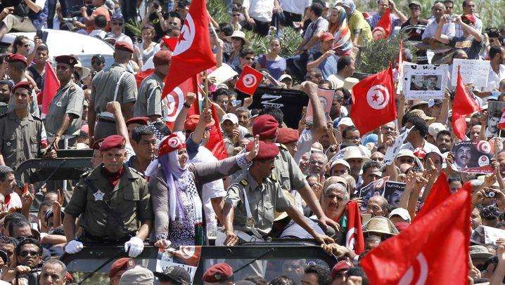 Tunesien und Ägypten: Kampf zwischen Islamisten und Säkularen
