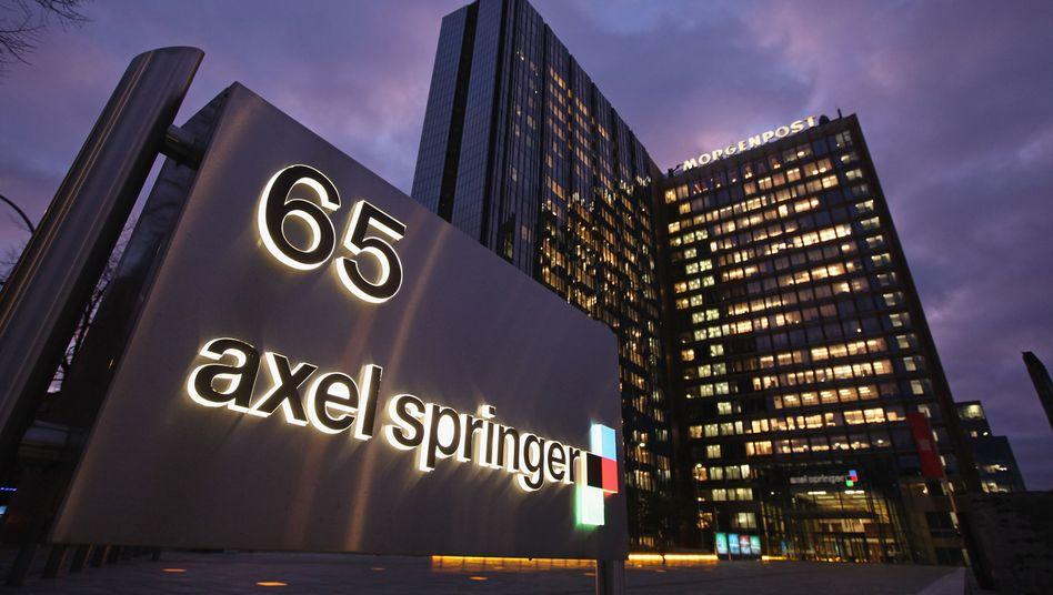 Axel-Springer-Verlagsgebäude (Archivbild)