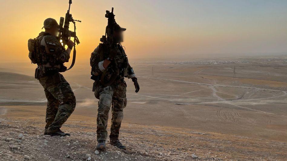 Verstärkung: Seit einigen Wochen unterstützen 20 Soldaten des »Kommando Spezialkräfte« (KSK) den Abzug der Bundeswehr aus Afghanistan
