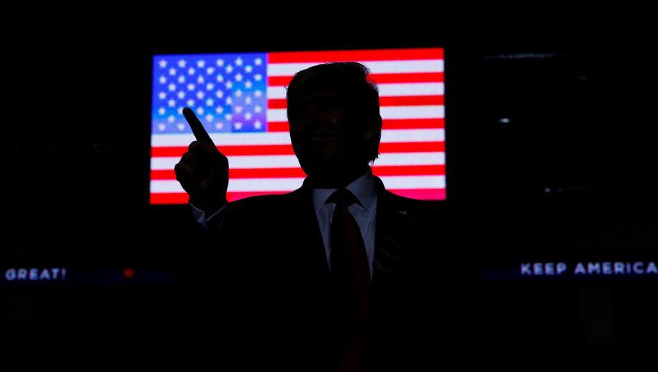 US-Präsident Trump: Mehr als 500 Mal twitterte er allein in den ersten beiden Oktoberwochen dieses Jahres