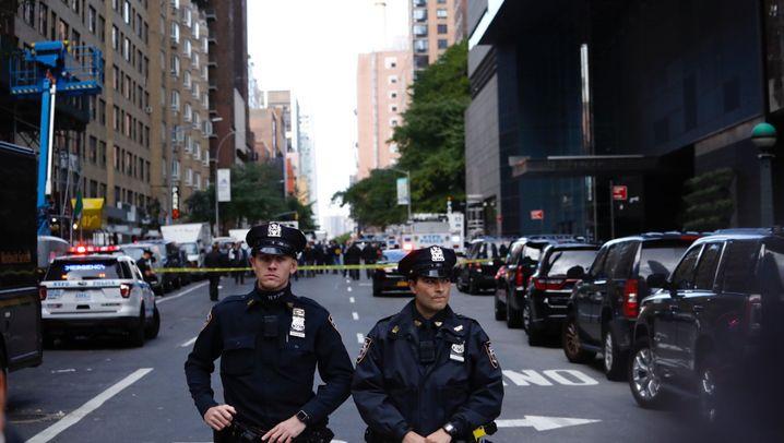 Verdächtiges Paket: CNN-Büros in New York evakuiert