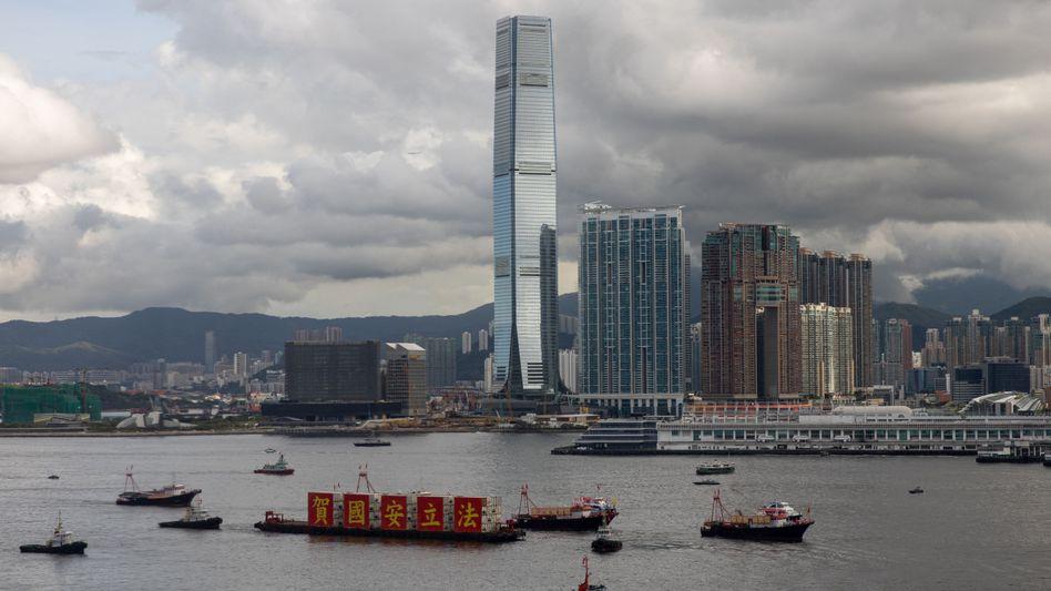 Skyline von Hongkong: Konfliktträchtige Boomregion