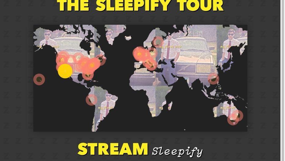 Vulfpeck-Website: Eine Tour durch Spotify-Streams finanzieren