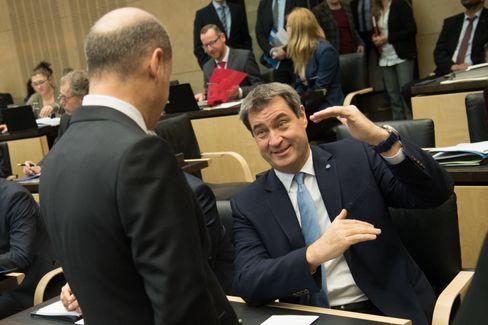 Olaf Scholz und Markus Söder sind beide geübte Finanzpolitiker - und Machtmenschen