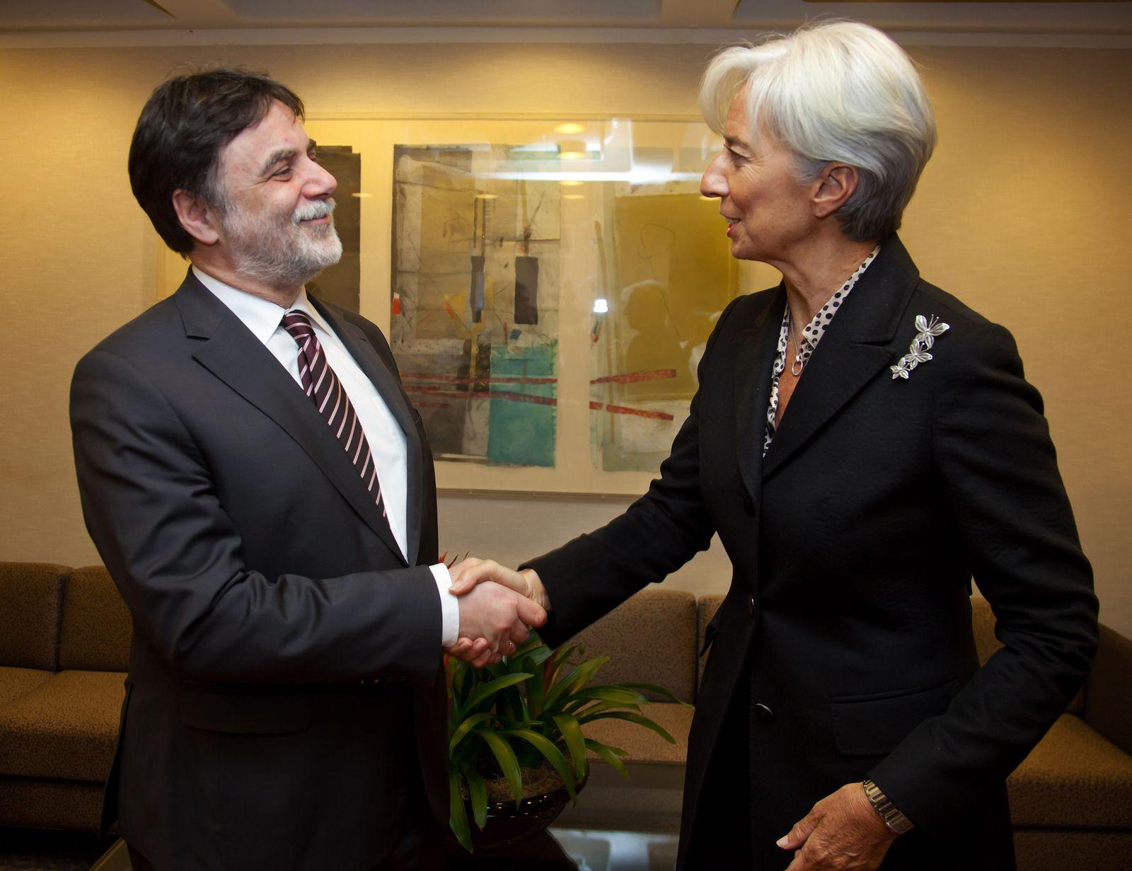 Hungary Financial Crisis/Lagarde/IWF