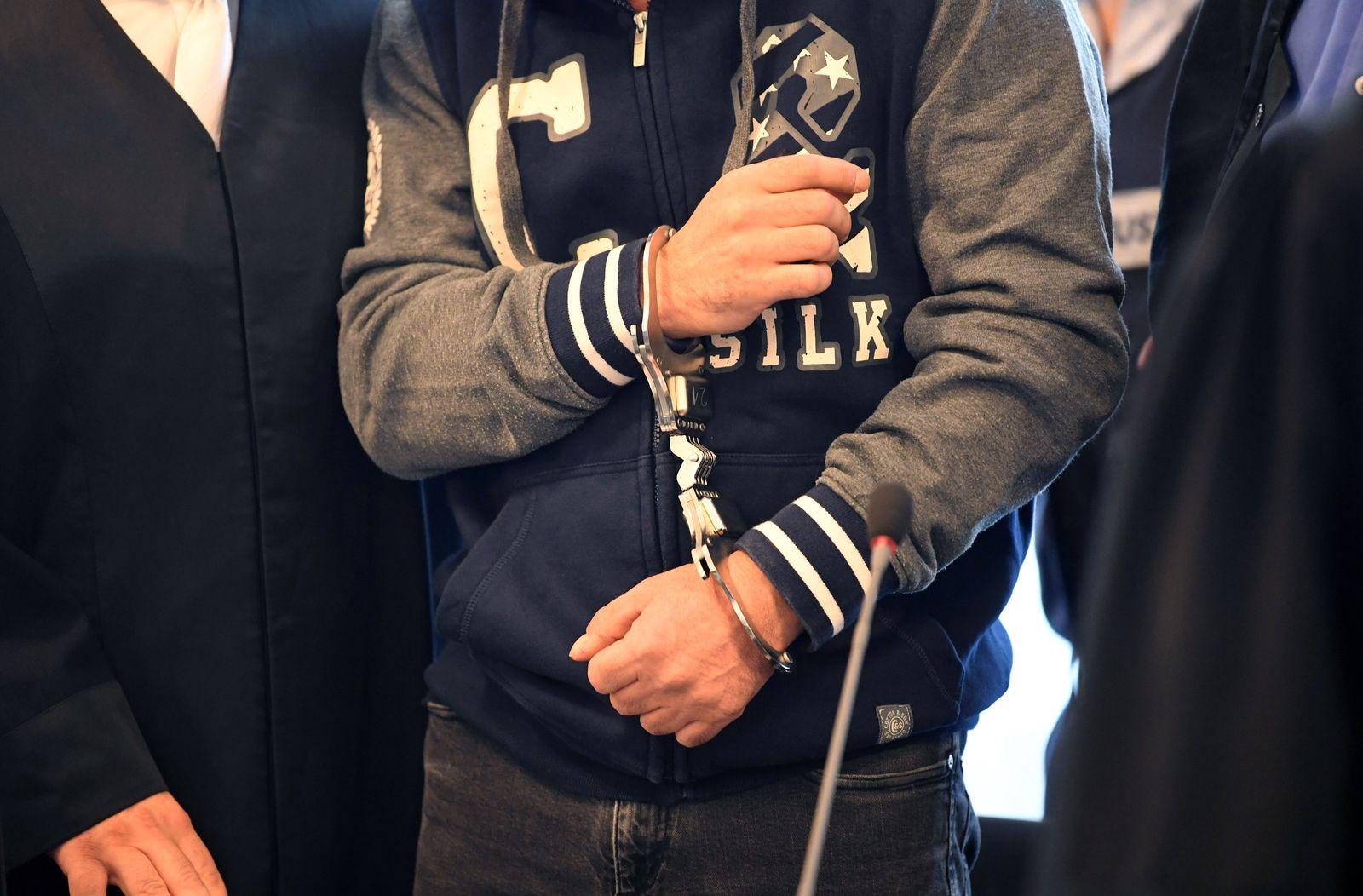 Beginn Mafia-Prozess in Karlsruhe