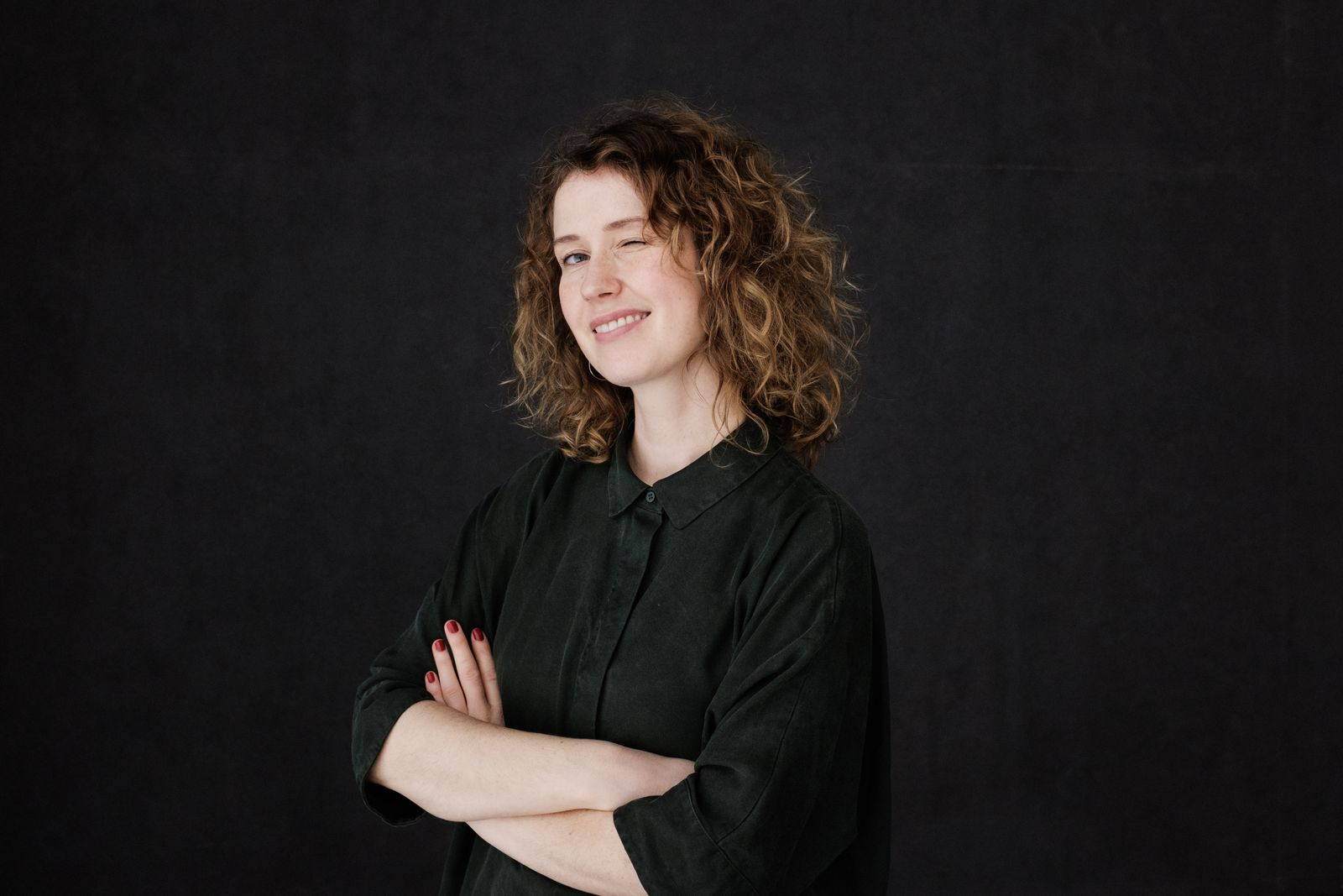 Katja Lewina by Lucas Hasselmann