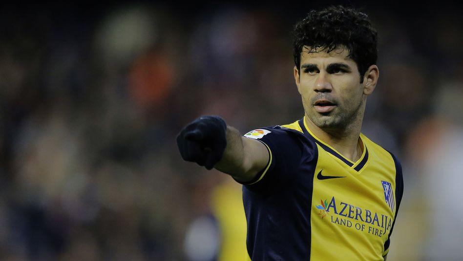 Atlético-Schlüsselspieler Costa: Kampf um die Meisterschaft