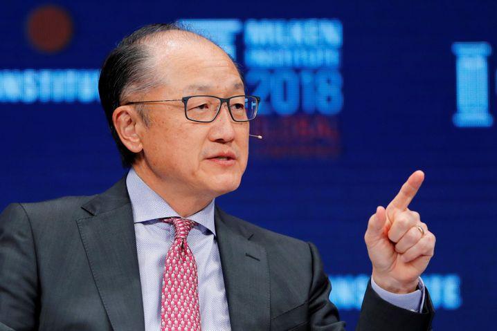 Ex-Weltbankpräsident Kim