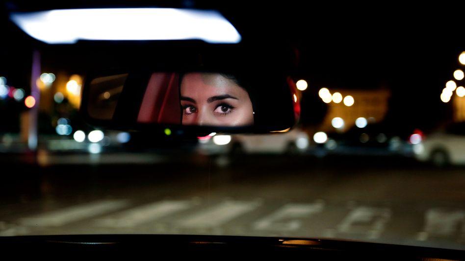 Frau am Steuer in Saudi-Arabien