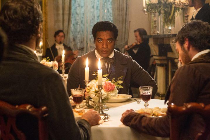 Chiwetel Ejiofor als Solomon Northup, der entführt und versklavt wird