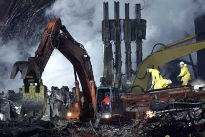 Tausende Menschen wurden bei den Terroranschlägen im World Trade Center in den Tod gerissen