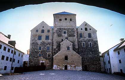 Mittelalterliche Pracht: Mit dem Bau des Schlosses in Turku wurde im 13. Jahrhundert begonnen