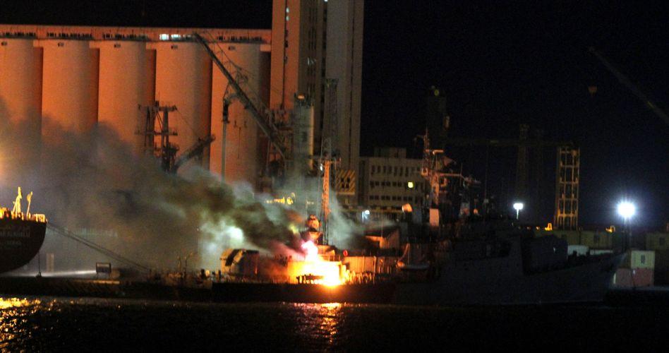 Krieg in Libyen: Nato versenkt acht Kriegsschiffe Gaddafis