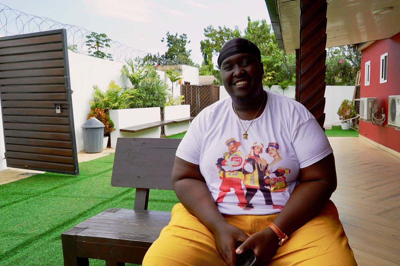 EINMALIGE VERWENDUNG Ghana/ Afrochella/ Edward Asafu-Adjaye