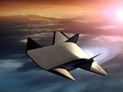 Hyperschallflugzeug X-43B (Zeichnung): Mögliche Vorstufe des neuen Nasa-Raumschiffs
