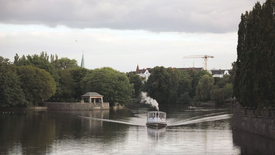 Umgebung des Hayns Park in Hamburg (Archivbild)