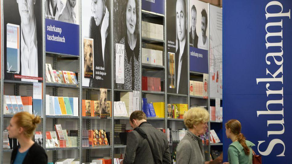Suhrkamp-Verlag auf der Frankfurter Buchmesse (Archiv): Neue Wende