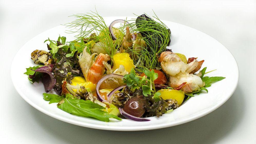 Zubereitung: Salat Vier Jahreszeiten