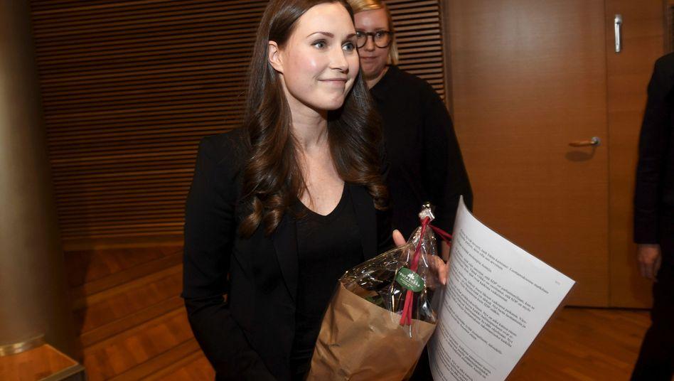 Die bisherige Verkehrs- und Kommunikationsministerin Sanna Marin