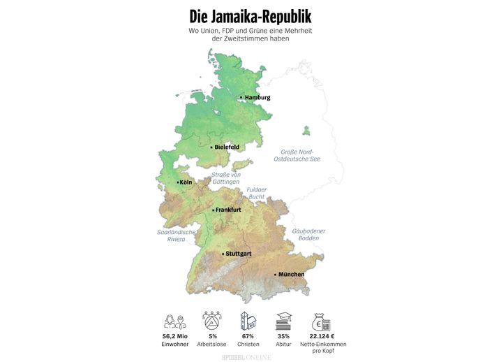 Koalitionsinseln Jamaika