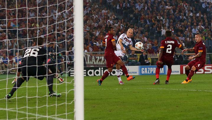 Champions League: Wie Bayern den AS Rom demontierte und Schalke viel Glück hatte