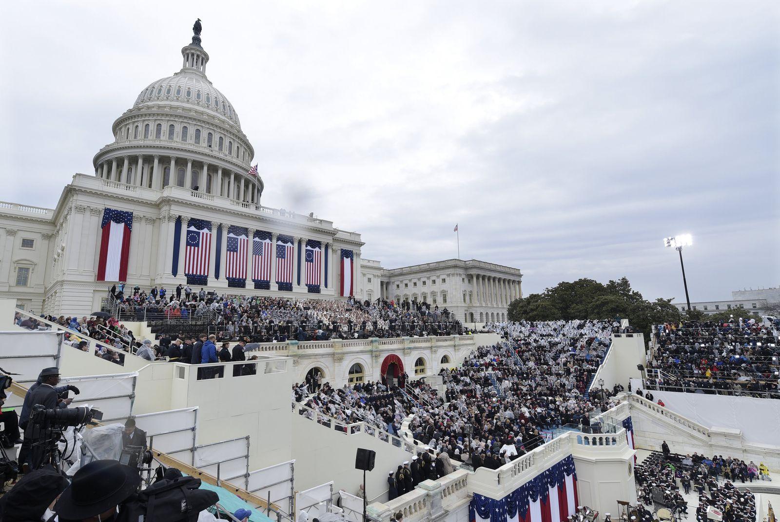 Trump Capitol/ Vereidigung/ inaugural