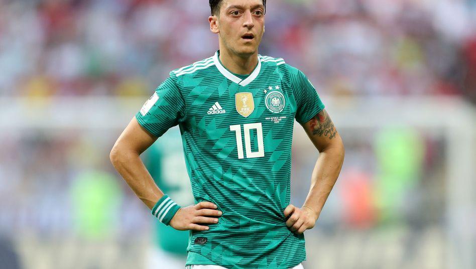 Mesut Özil nach dem Spiel gegen Südkorea