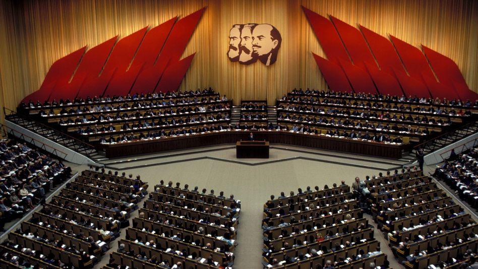 SED-Parteitag 1986: Mehr als 8000 Mitglieder sind noch heute bei der Linken