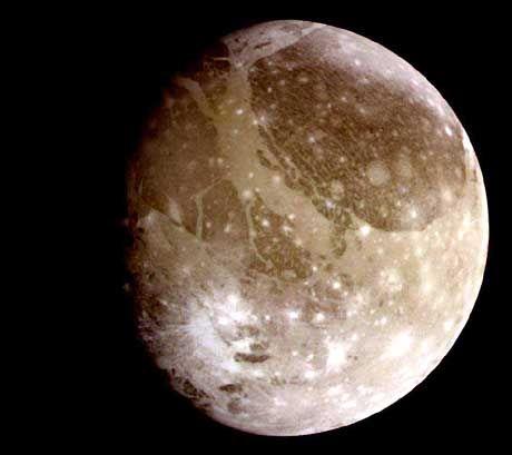 Ganymed: Ein Mond des Jupiter