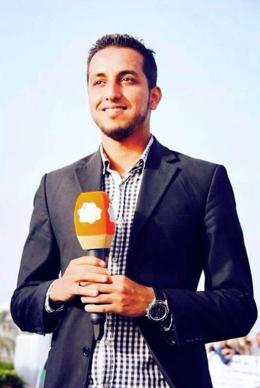EINMALIGE VERWENDUNG Salah Zater/ Libyen/ Journalist