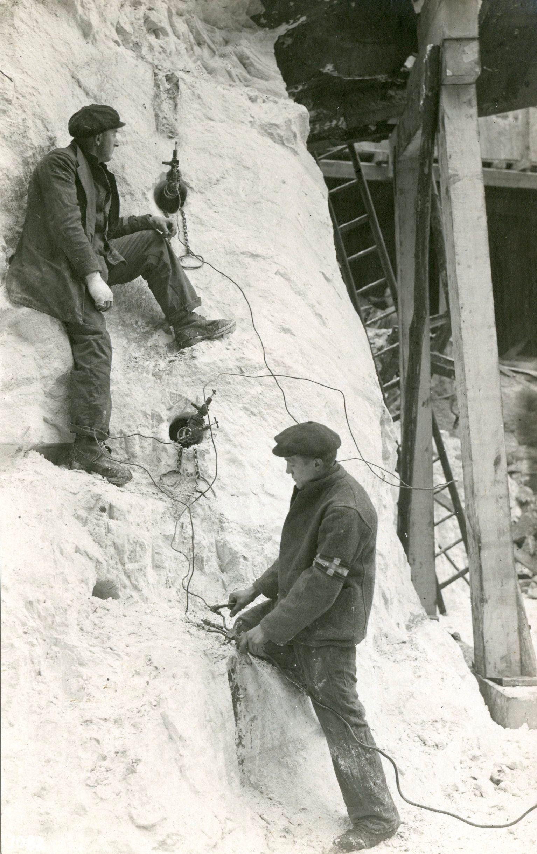 BASF-Oppau_Sprengbohrloecher_1921