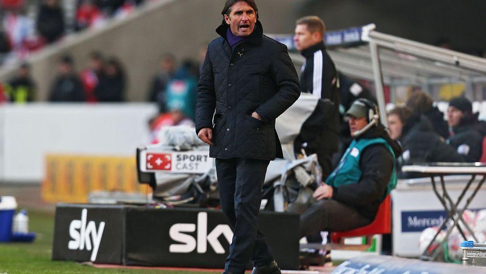 VfB-Coach Labbadia: Eine Sache der Konzentration