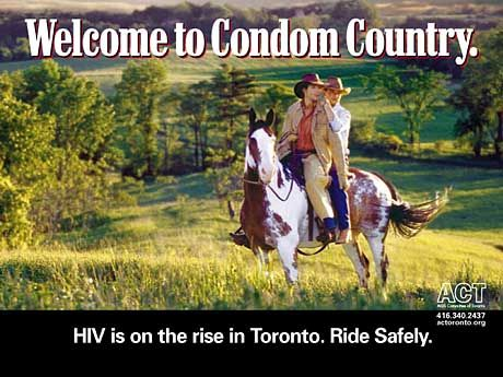 kondom werbung