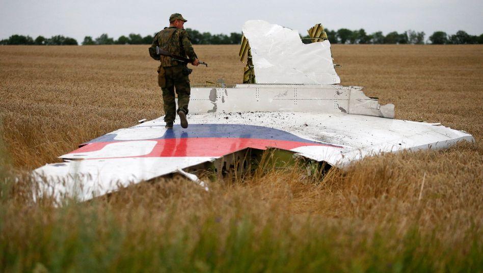 Absturzstelle von MH17