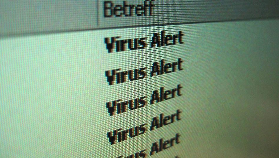 Virenalarm per E-Mail: Deutschland ist Spitzenreiter bei Verbreitung von Schadcode